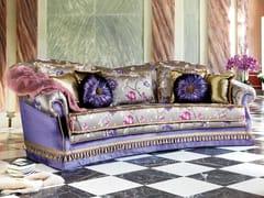 - Classic style 3 seater fabric sofa ZERYBA CURVO | Classic style sofa - Domingo Salotti