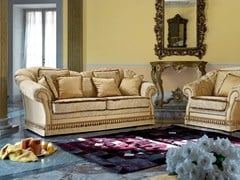 - Classic style 2 seater fabric sofa ZERYBA | Classic style sofa - Domingo Salotti