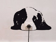 - Vinyl wall sticker ZOO CHIOT - Moustache