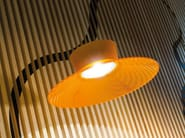 LED polycarbonate pendant lamp KIT-27 QUID 160 - Lombardo