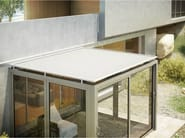 Box motorized Folding arm awning 110 GPZ TENS TO - KE Outdoor Design