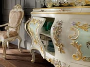 Classic carved sideboard with figured mirror luxury - Villa Venezia Collection - Modenese Gastone