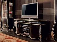 Hadrwood classic Italian carved TV-stand - Villa Venezia Collection - Modenese Gastone
