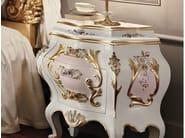 Gold leaf handmade carves bedside table - Villa Venezia Collection - Modenese Gastone