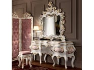Hardwood toilette with figured mirror floral carves - Villa Venezia Collection - Modenese Gastone