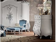 Home furnishings dresser toilette with flap and mirror - Villa Venezia Collection - Modenese Gastone