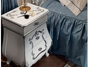 Bedside table luxury classic furniture handmade hardwood - Villa Venezia Collection - Modenese Gastone