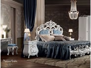 Bedroom upholstery with Swarovski button luxury design - Villa Venezia Collection - Modenese Gastone