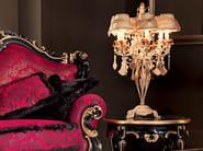 Sofa soft velvet carves luxury Venetian classic design - Villa Venezia Collection - Modenese Gastone