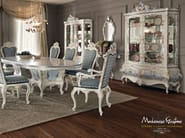 Dining set hardwood luxury interior design - Villa Venezia collection - Modenese Gastone