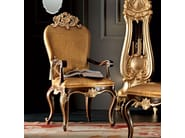 Armchair with crocodile leather luxury - Villa Venezia Collection - Modenese Gastone