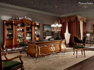 Luxury classic office walnut handmade furniture - Villa Venezia Collection - Modenese Gastone