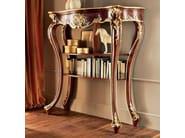 Walnut chiffonier classic gold leaf Italian design - Villa Venezia Collection - Modenese Gastone