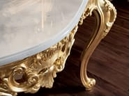 Console handmade gold leaf marble top classical style - Villa Venezia Collection - Modenese Gastone