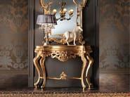 Luxury classic gold leaf studio cosole table - Villa Venezia Collection - Modenese Gastone