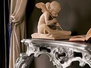 Silver leaf console Italian hardwood furniture - Villa Venezia Collection - Modenese Gastone