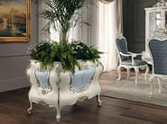Flower box carved painted classic furniture handmade - Villa Venezia Collection - Modenese Gastone