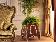 Flower box walnut bespoke furniture Italian lifestyle - Villa Venezia Collection - Modenese Gastone