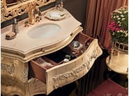 Bathroom handmade swan sink luxury tap - Villa Venezia Collection - Modenese Gastone