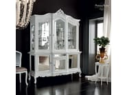 Modular glass cabinet with mirror doors classic style - Casanova collection - Modenese Gastone