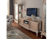 Refined TV stand classic Italian luxury style - Casanova Collection - Modenese Gastone
