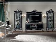 Interior design classic salon furnishing cabinet and TV-stand - Casanova Collection - Modenese Gastone