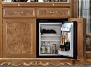 Bottle showcase with fridge compartment - Casanova Collection - Modenese Gastone