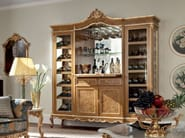 Bottle showcase with briar root inlays and carves - Casanova Collection - Modenese Gastone