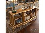 Open wooden bookcase CASANOVA   Bookcase - Modenese Gastone group