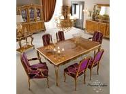 Fashionable hardwood customizable dining room - Casanova Collection - Modenese Gastone
