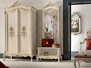 Hardwood inlaid wardrobe and coat stand with hooks - Casanova Collection - Modenese Gastone