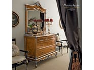 Classical tailormade dresser with briar root panel - Casanova Collection - Modenese Gastone