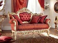 Classic furniture padded and upholstered sofa - Casanova Collection - Modenese Gastone