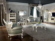 Living room with solid wood and carved furniture - Casanova Collection - Modenese Gastone