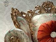 Luxury armchair embroidered fabrics Italian furniture - Casanova Collection - Modenese Gastone