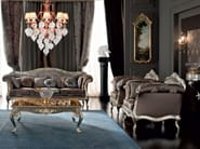 Armchair luxury lifestyle embroidered fabric - Casanova Collection - Modenese Gastone