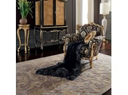 Venetian style Italian luxury armchair gold leaf - Casanova Collection - Modenese Gastone