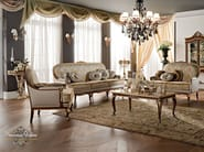Italian furniture soft upholstery in a salon - Casanova Collection - Modenese Gastone
