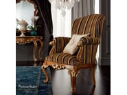 Upholstered fabric armchair with armrests 12435 | Armchair - Modenese Gastone group