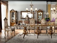 Classic luxury dining room with one piece table - Casanova Collection - Modenese Gastone