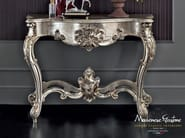 Hardwood luxury interior design carved console - Casanova Collection - Modenese Gastone