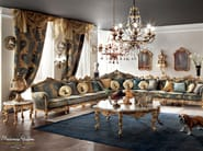 Venetian classic style sitting room with soft upholstery - Casanova Collection - Modenese Gastone