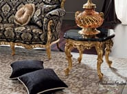 Classic deluxe solutions coffee table with marble top - Casanova Collection - Modenese Gastone