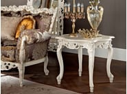 Hardwood classic Italian coffee table handmade and carved - Casanova Collection - Modenese Gastone