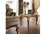 Living room classic interior design marble walnut table - Casanova Collection - Modenese Gastone