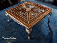 Salon furnishing inlaid carved coffee table - Casanova Collection - Modenese Gastone