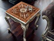 Salon furnishing inlaid carved coffee table hardwood - Casanova Collection - Modenese Gastone