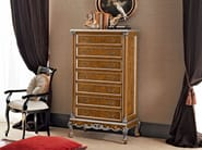Bespoke classic chest of drawers with briar root panel - Casanova Collection - Modenese Gastone