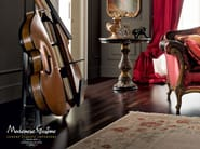 Hardwood handmade walnut double bass bar - Casanova Collection - Modenese Gastone