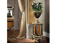 Luxury classic vase holder with briar root panel - Casanova Collection - Modenese Gastone
